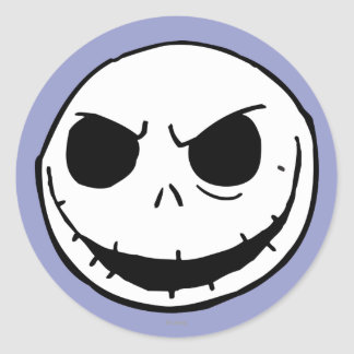 Jack Skellington 5 Classic Round Sticker