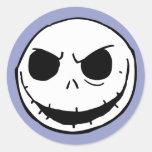 Jack Skellington 5 Round Sticker
