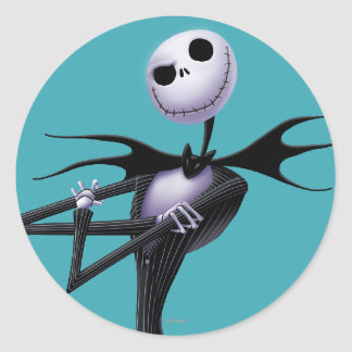 Jack Skellington 6 Classic Round Sticker