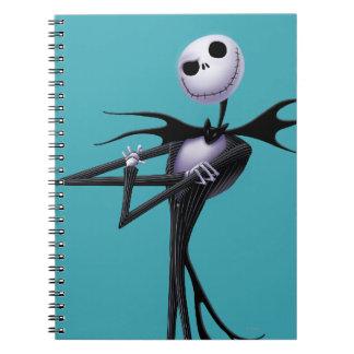 Jack Skellington 6 Spiral Notebooks