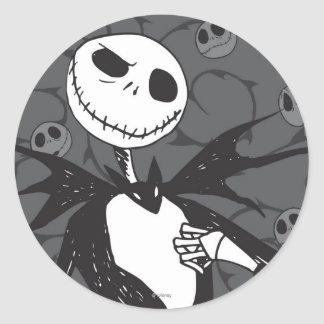 Jack Skellington 8 Classic Round Sticker