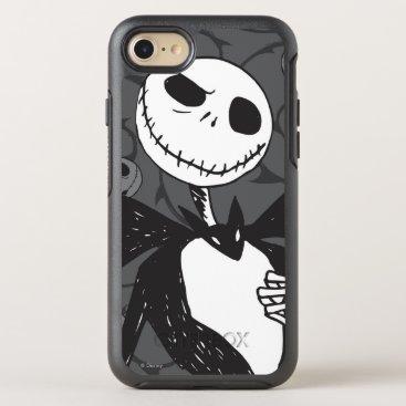 Disney Themed Jack Skellington 8 OtterBox Symmetry iPhone 7 Case