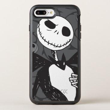 Disney Themed Jack Skellington 8 OtterBox Symmetry iPhone 7 Plus Case