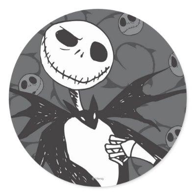Jack Skellington 8 stickers