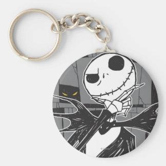 Jack Skellington 9 Basic Round Button Keychain