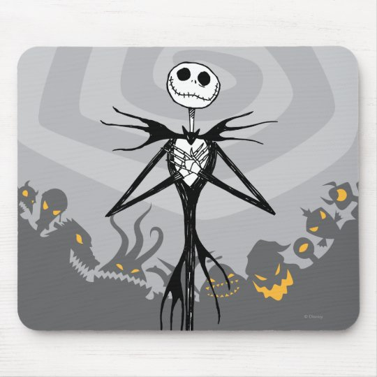Jack Skellington | Cemetery Fence Mouse Pad