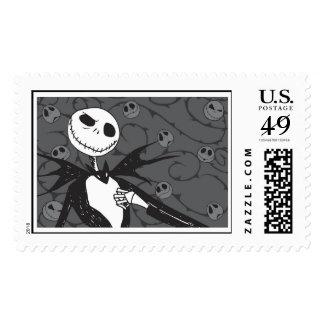 Jack Skellington Disney Postage Stamp