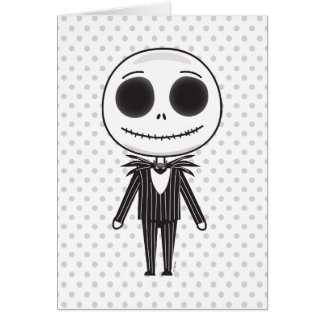 Jack Skellington Emoji Card