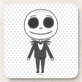 Jack Skellington Emoji Coaster