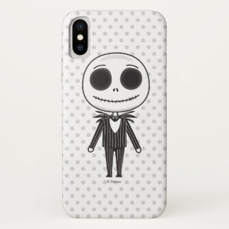 Jack Skellington Emoji iPhone X Case