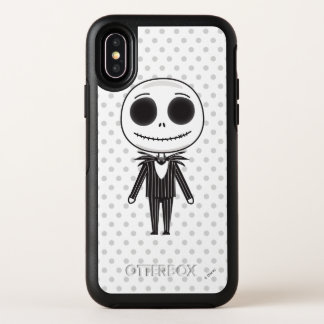 Jack Skellington Emoji OtterBox Symmetry iPhone X Case