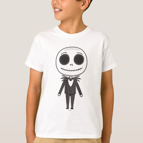 Jack Skellington Emoji T_Shirt