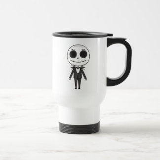 Jack Skellington Emoji Travel Mug