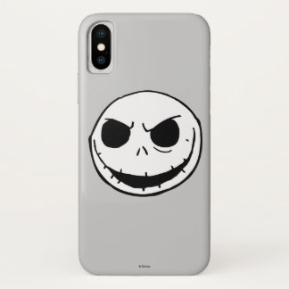 Jack Skellington - Head iPhone X Case
