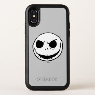 Jack Skellington - Head OtterBox Symmetry iPhone X Case