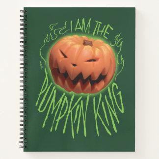 Jack Skellington   I Am The Pumpkin King Notebook