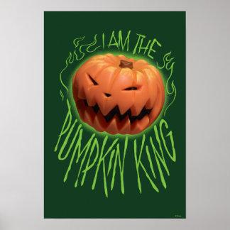 Jack Skellington | I Am The Pumpkin King Poster
