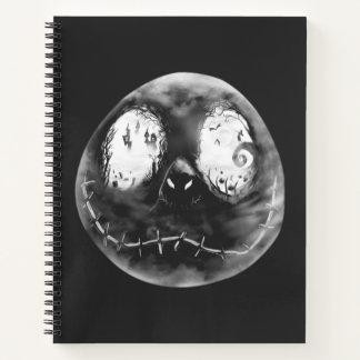 Jack Skellington   Just Smile Notebook