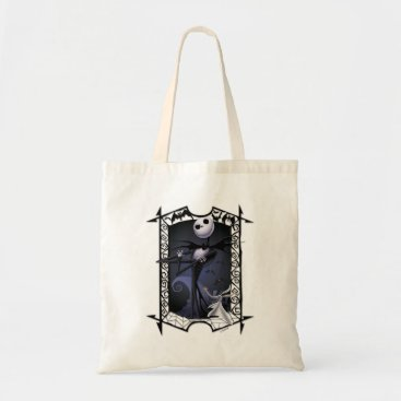Disney Themed Jack Skellington | King of Halloweentown Tote Bag