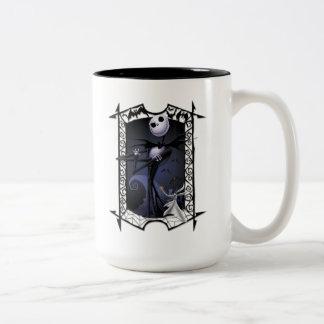 Jack Skellington | King of Halloweentown Two-Tone Coffee Mug
