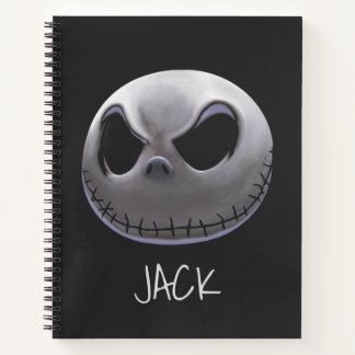 Jack Skellington   Master of Fright Notebook