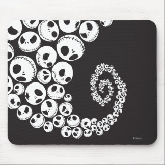 Jack Skellington Pattern 1 Mouse Pad