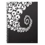 Jack Skellington Pattern 1 Spiral Notebook