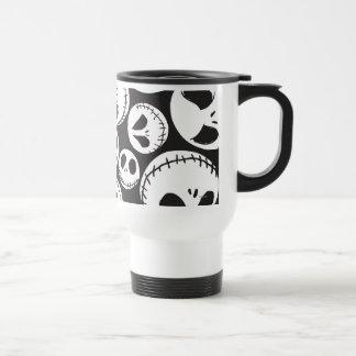 Jack Skellington Pattern 1 Travel Mug