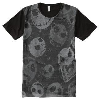 Jack Skellington Pattern 2 All-Over Print Shirt