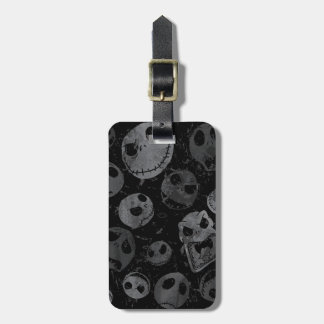 Jack Skellington Pattern 2 Luggage Tag