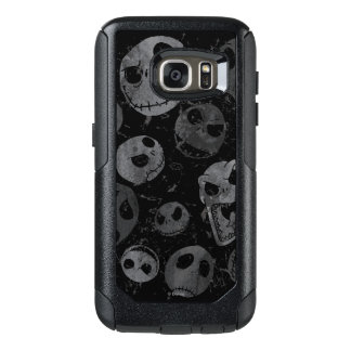 Jack Skellington Pattern 2 OtterBox Samsung Galaxy S7 Case