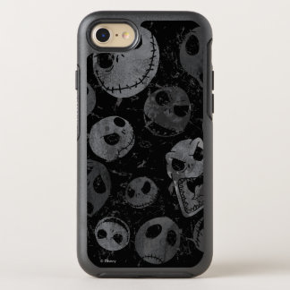 Jack Skellington Pattern 2 OtterBox Symmetry iPhone 7 Case