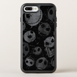 Jack Skellington Pattern 2 OtterBox Symmetry iPhone 7 Plus Case
