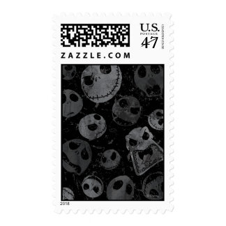 Jack Skellington Pattern 2 Postage