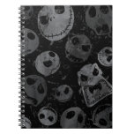 Jack Skellington Pattern 2 Spiral Notebooks