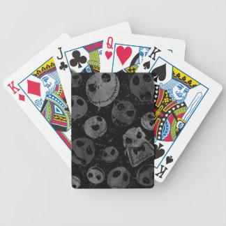 Jack Skellington Pattern Bicycle Playing Cards