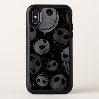 Jack Skellington Pattern OtterBox Symmetry iPhone X Case