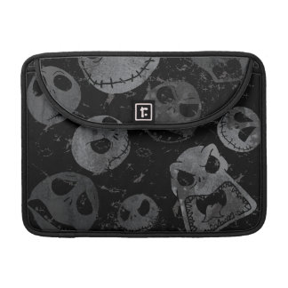 Jack Skellington Pattern Sleeve For MacBooks