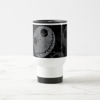 Jack Skellington Pattern Travel Mug