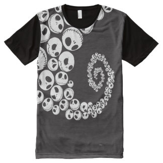 Jack Skellington Pern 1 All-Over Print Shirt