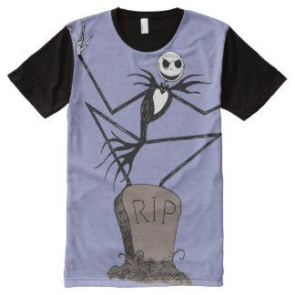 Jack Skellington RIP All-Over Print Shirt