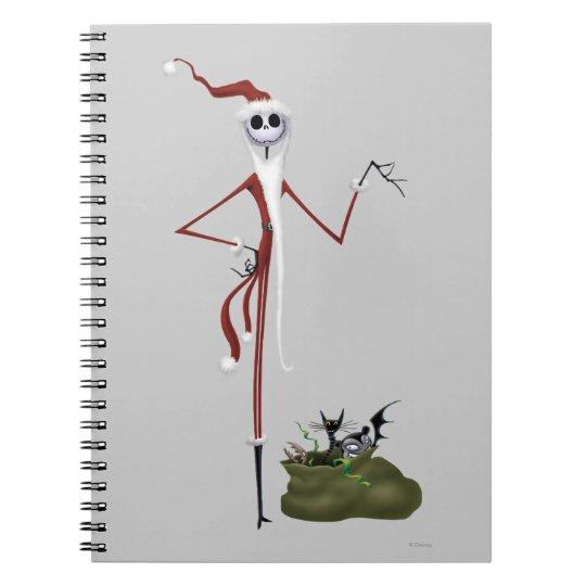 Jack Skellington | Sandy Claws Notebook