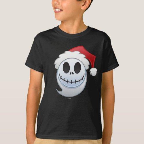 Jack Skellington Santa Emoji T_Shirt