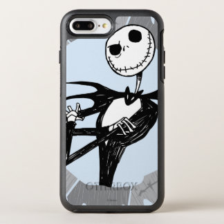 Jack Skellington | Saw Blade Frame OtterBox Symmetry iPhone 8 Plus/7 Plus Case