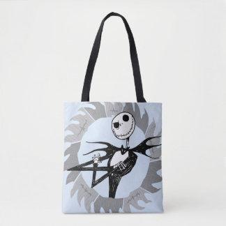 Jack Skellington | Saw Blade Frame Tote Bag