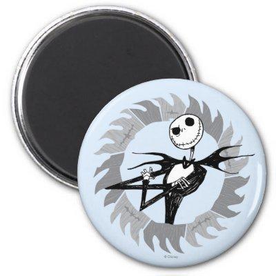 Jack Skellington Saw Blade magnets