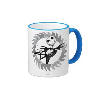 Jack Skellington Saw Blade Ringer Coffee Mug