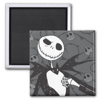 Jack Skellington   Skellington Background Magnet