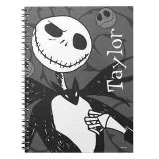 Jack Skellington   Skellington Background Notebook