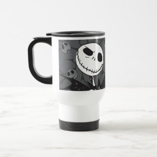 Jack Skellington | Skellington Background Travel Mug